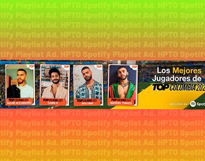 HPTO Spotify Playlist Ad.