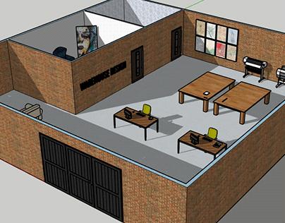 Modelado 3D: Warehouse Design
