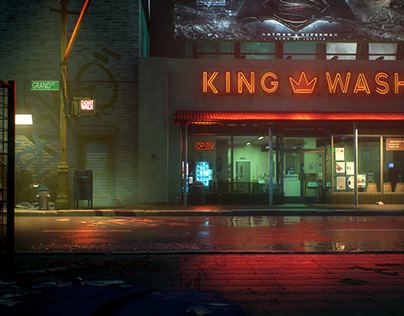 The King Wash
