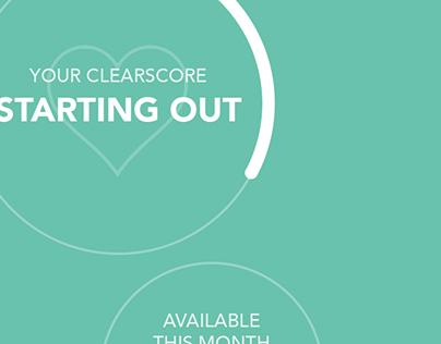ClearScore design sprint