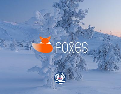 LAPONIE TROPHY - Team Foxes [LOGO DESIGN]