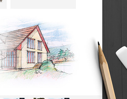 Дизайн сайта по продаже модульных домов