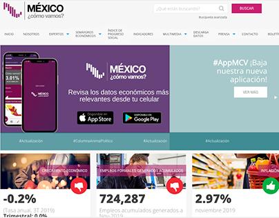 MÉXICO ¿cómo vamos? // DISEÑO WEB