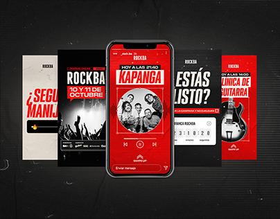 ROCKBA | social media