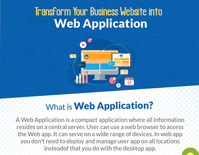 Transform your business #Website into #WebApplication