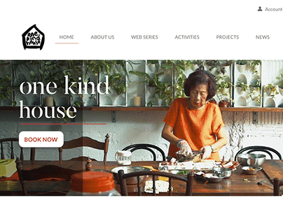 One Kind House - New Website Design Development