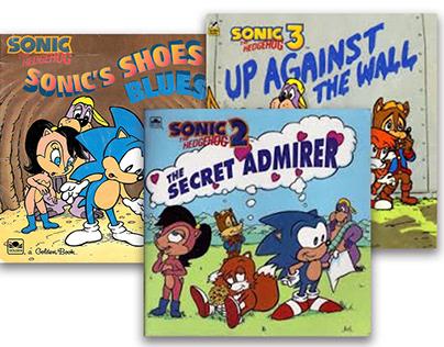 Sonic the Hedgehog Look-Look Books