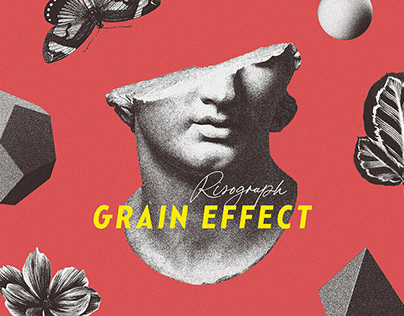 Risograph Grain Effect by Pixelbuddha