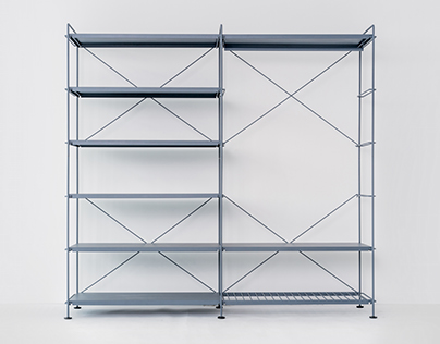 Roommate shelving system