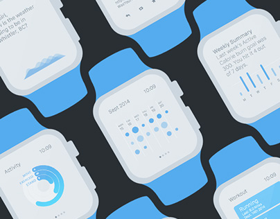 Apple Watch UI Kit for Axure RP