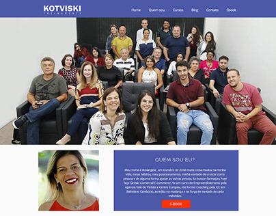 KOTVISKI | Logo e site