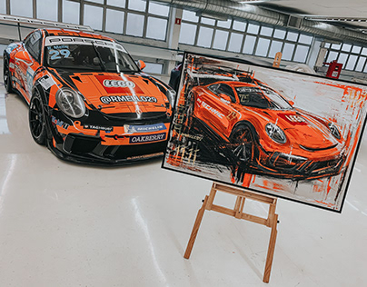 Artwork for Porsche Cup Brazil