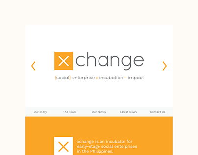 Website design & development — Xchange