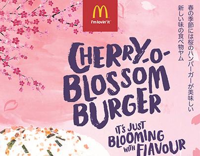 McDonald's Cherry O Blossom Campaign | ADVERTISING