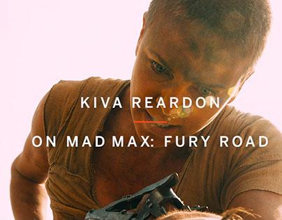 Kiva Reardon Mad Max: Fury Road Commentary