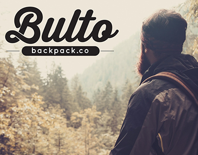 Bulto Backpack.co - Corporate Brand & Package Design