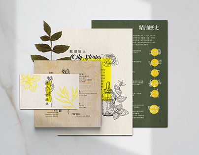 Oily Stories - Booklet Design
