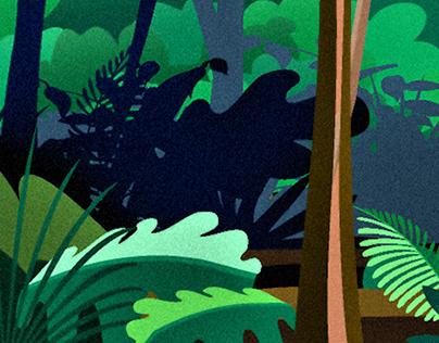Jungle - Illustration, Design