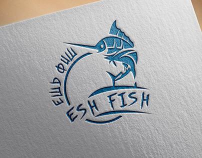 Logo for a fish restaurant.