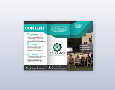 Designed Brochure for Alliance