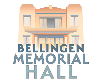 Bellingen Memorial Hall LOGO, website & photography