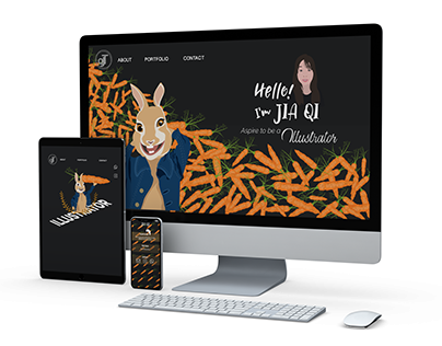Tan Jia Qi's Website Design