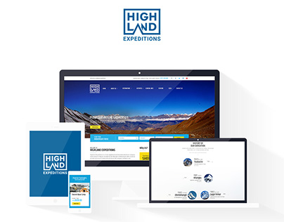 Highland Expeditions - Branding and Web Design