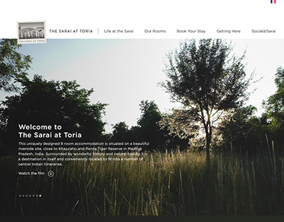 The Sarai at Toria Website & Photography