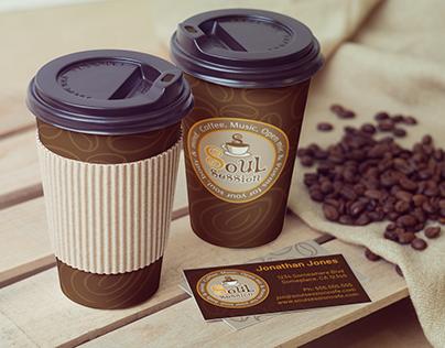 Soul Session Cafe-Logo Design & Branding