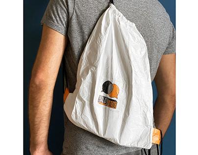 Tyvek® Drawstring Bagpack for HALO.RADIO