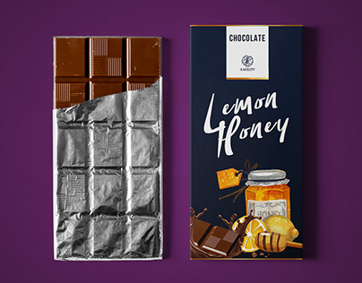 Chocolate - Packaging design