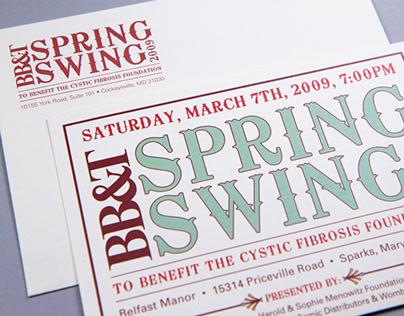 Spring Swing Western Themed Invitation