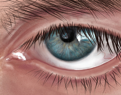 Eye detail / digital drawing