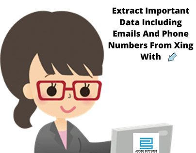 Just Type, Find and Extract Important Data From Xing