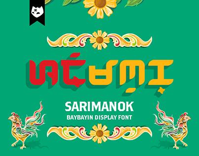 BAYBAYIN SARIMANOK Free Font