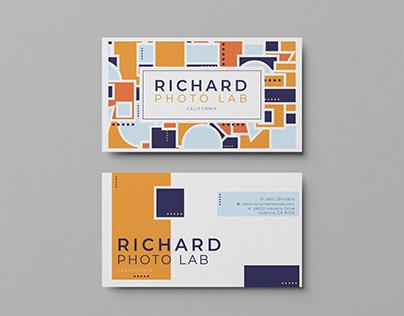 Richard Photo Lab Business Card