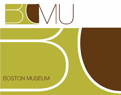 Boston Museum identity and Poster