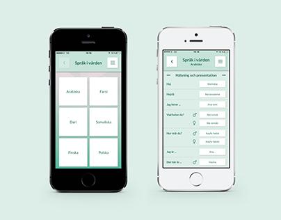 App Språk i vården