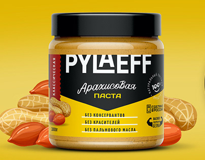 Packaging designof peanut butter