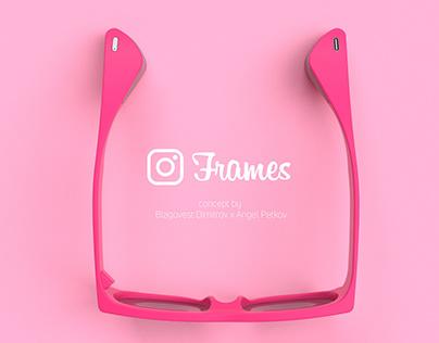 Frames by Instagram concept