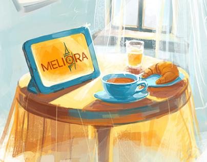 Meliora Morning Classes illustration