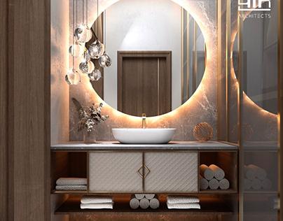 Wash and bathroom design in kSA