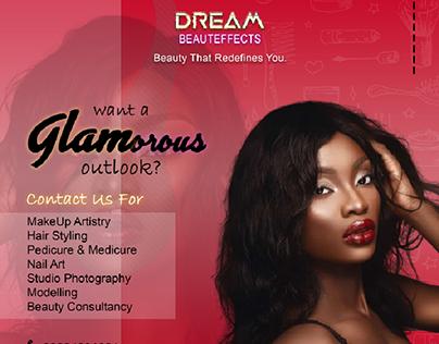 Flyer Design for Dream Beauteffects