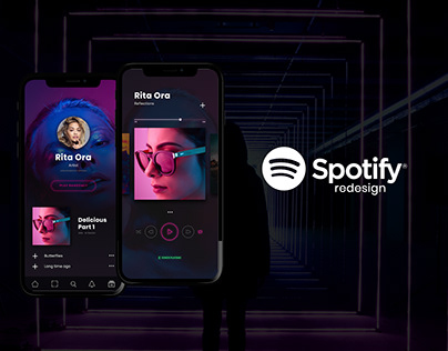 Spotify Redesign 2019