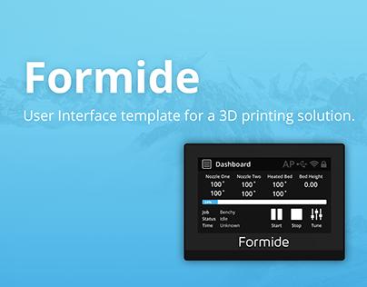 3D Print UI