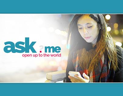 ask.me Persuasive Game Web Design