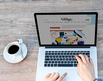 Шаблон SWOT-анализа для журнала The Village