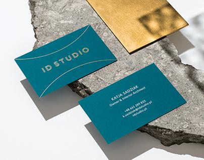 ID STUDIO Interior Architecture Studio — Brand Identity