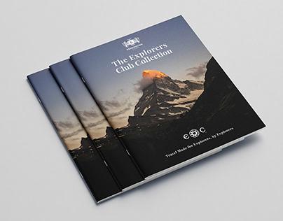 Explorers Club Collection Brochure