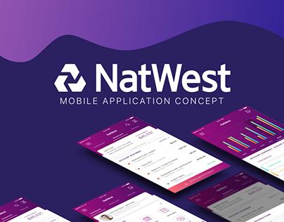 Natwest - Banking App UI UX Design Concept